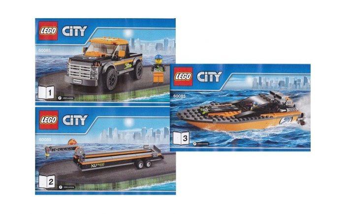 Lego speedboot