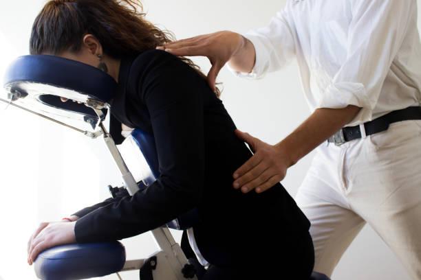 Massage op het werk